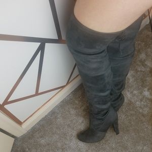 Steve Madden Over the Knee Gorgeous Boots